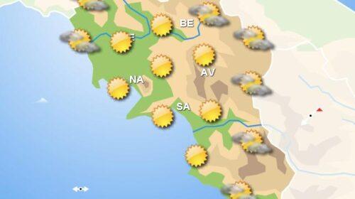 Meteo per domani, in Campania cielo sereno con piogge isolate nelle zone interne