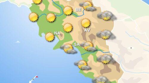 Meteo per domani, in Campania sole con piogge nelle zone interne