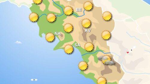 Meteo fine settimana, in Campania schiarite e piogge