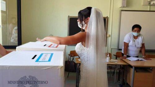 Sassano, prima il matrimonio e poi il voto