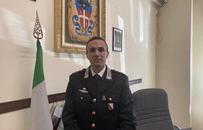 Tanzilli nuovo comandante dei carabinieri ad Eboli: prima volta al Sud