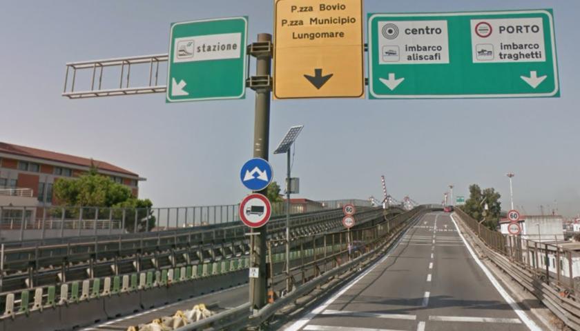 A3 NAPOLI-POMPEI-SALERNO: CHIUSA PER UN'ORA L'USCITA DELLO SVINCOLO DI NAPOLI VIA MARINA PER CHI VIENE DA SALERNO