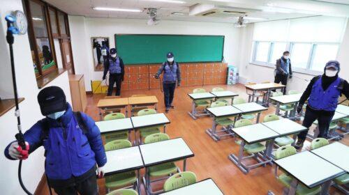 A Battipaglia 4 scuole chiuse per sanificazione