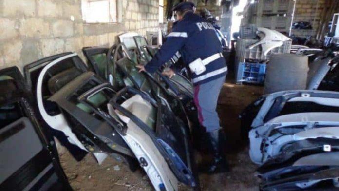 A San Valentino Torio scoperto riciclaggio di pezzi di ricambio per auto proventi di furto