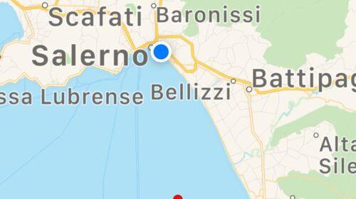 Scossa di terremoto tra Capaccio, Agropoli e Bellizzi, epicentro a 7 chilometri nel golfo di Salerno