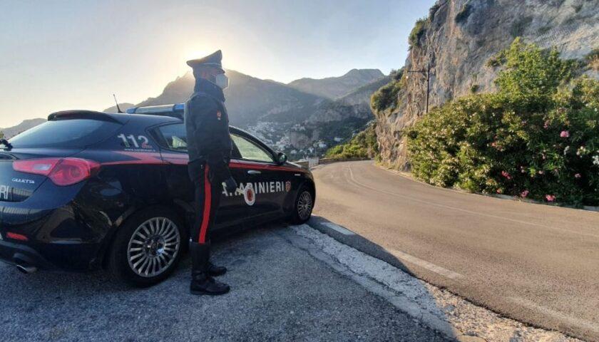 Controlli a tappeto dei carabinieri: multe, 2 arresti e denunce tra Salerno e i Picentini