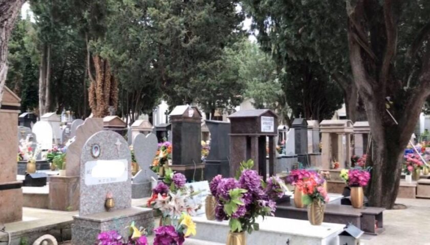 Ognissanti, cimitero aperto a Sarno ma con ingressi scaglionati