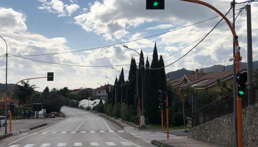SICUREZZA STRADALE: RIATTIVATO L'IMPIANTO SEMAFORICO A MALCHE DI GIFFONI SEI CASALI.