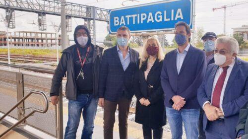 Da Battipaglia a Roma in 1ora e 50minuti. L'alta velocità diventa realtà, con la prima fermata a Battipaglia del treno Fracciargento