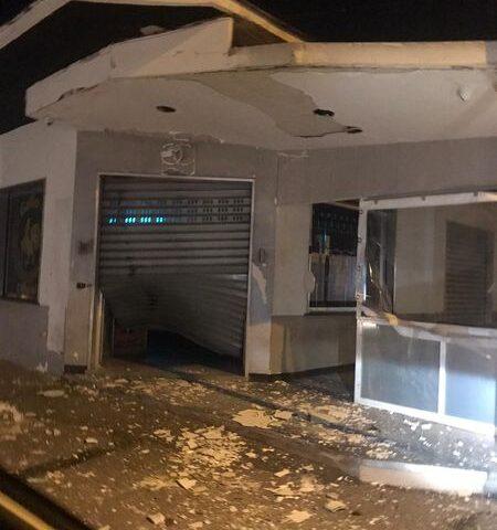 Terrore a Scafati, bomba contro un bar in via Poggiomarino