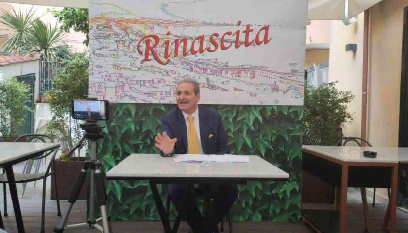 """La """"Rinascita"""" di Michele Sarno candidato a sindaco di Salerno: """"Voglio portare la città ai fasti di 10 anni fa"""""""