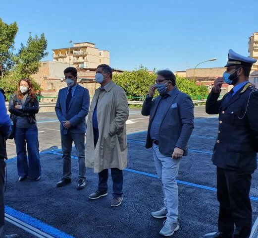 Questa mattina a Nocera Inferiore riaperto il parcheggio multipiano di via Barbarulo: è' già operativo