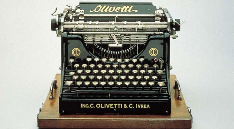 Accadde oggi: il 29 ottobre 1908 nasce la Olivetti, la prima macchina da scrivere italiana