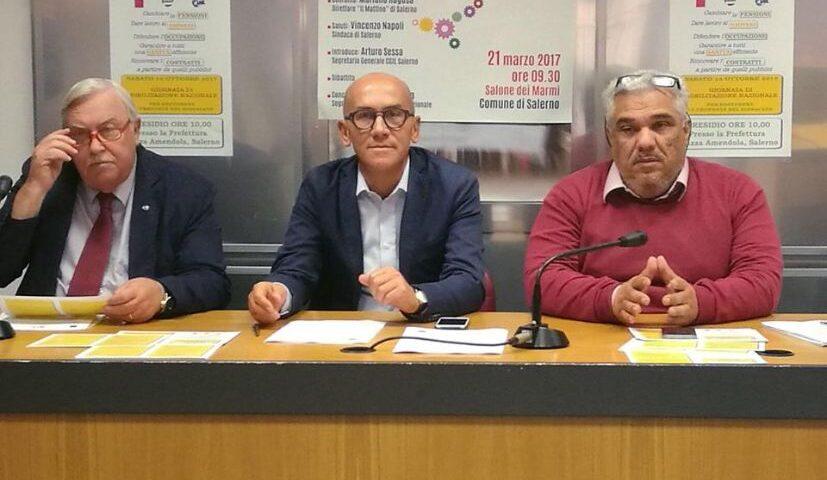 Vertenza Whirlpool di Napoli: da Salerno solidarietà ai lavoratori dalle segreterie provinciali di Cgil, Cisl e Uil.