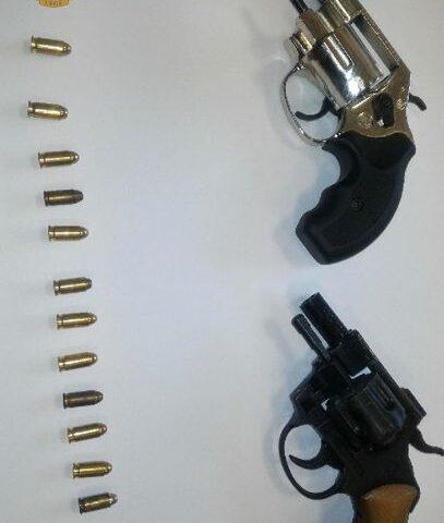 Pistole alterate in casa, arrestato un 36enne di Sarno