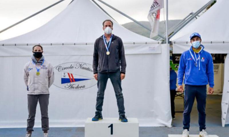 Il velista salernitano Erberto Sibilia (Canottieri Irno) vicecampione europeo Laser nella categoria Master Apprentice