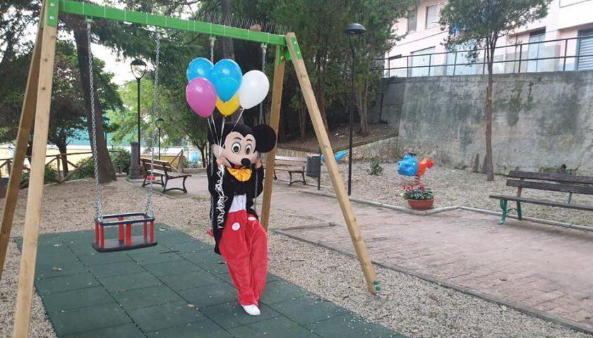A Pellezzano inaugurazione del parco giochi