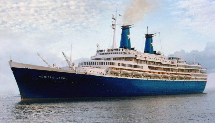 """Accadde oggi: il 7 ottobre del 1985 il sequestro in Egitto della nave da crociera """"Achille Lauro"""""""