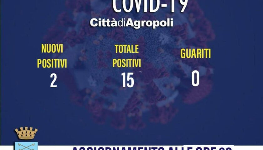 Agropoli – due nuovi positivi al coronavirus