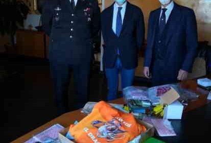 Apparecchi per i bambini del Ruggi donati dai carabinieri