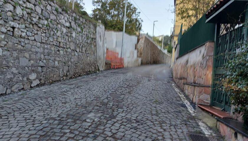 Cava – Via Nicola Pastore riapre al traffico