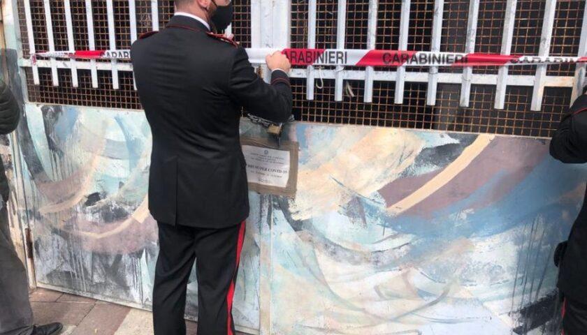 Norme anti covid non rispettate, chiuso a Sapri il mercato di via Pisacane