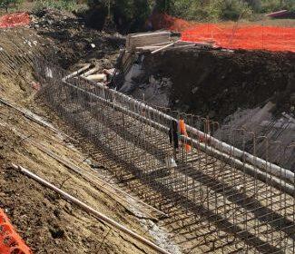 Fondovalle Sele, proseguono i lavori di realizzazione del nuovo svincolo di Contursi Terme