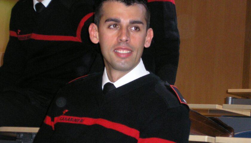 A Sondrio strada intitolata al tenente eroe Marco Pittoni, il carabiniere eroe ucciso a Pagani nel 2008