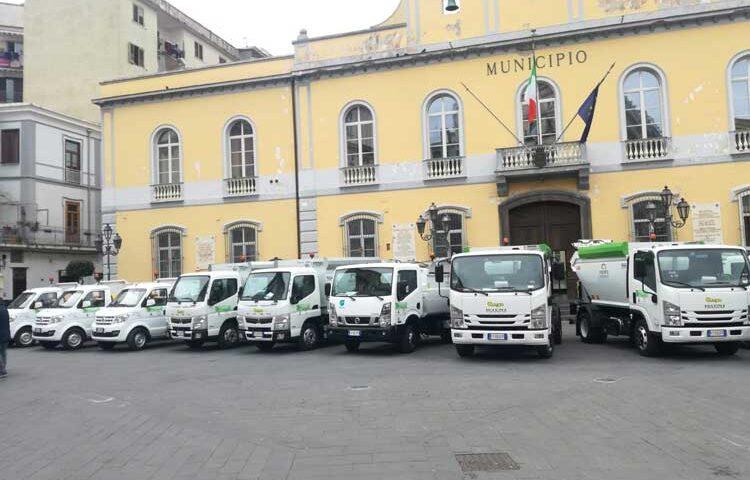 Raccolta rifiuti e spostamenti, a Nocera Inferiore arrivano i Gps sui mezzi della Multiservizi