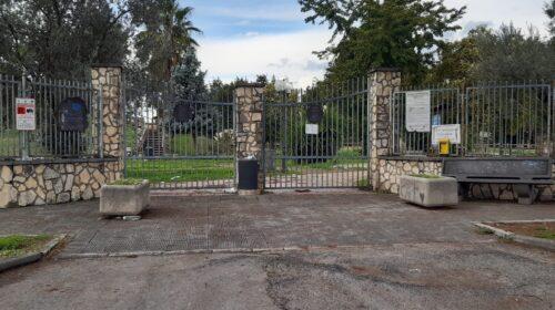 San Marzano, parco urbano chiuso da settembre : chiesta trasparenza