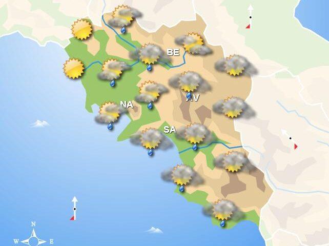 Meteo fine settimana, in Campania domani e domenica pioggia