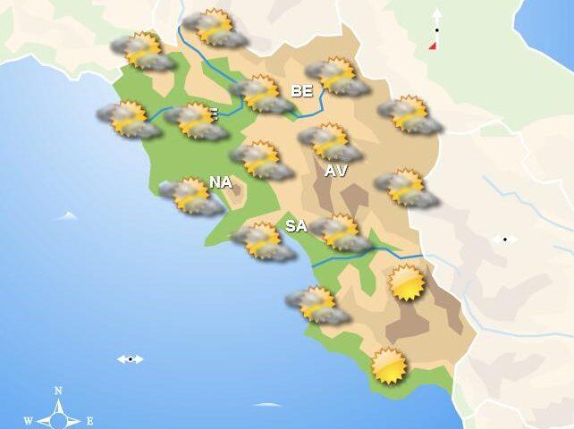 Meteo domani, in Campania tempo asciutto con qualche nube