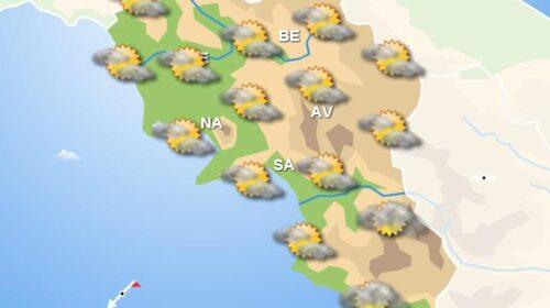Meteo domani, in Campania nuvolosità nel pomeriggio. Sereno in serata