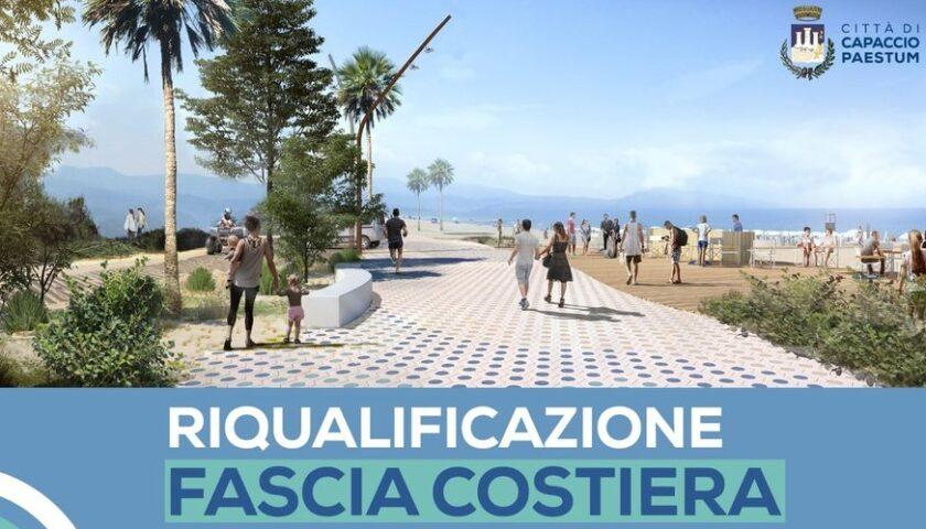 VIDEO – Capaccio Paestum. Al via domani i lavori di riqualificazione del litorale cittadino