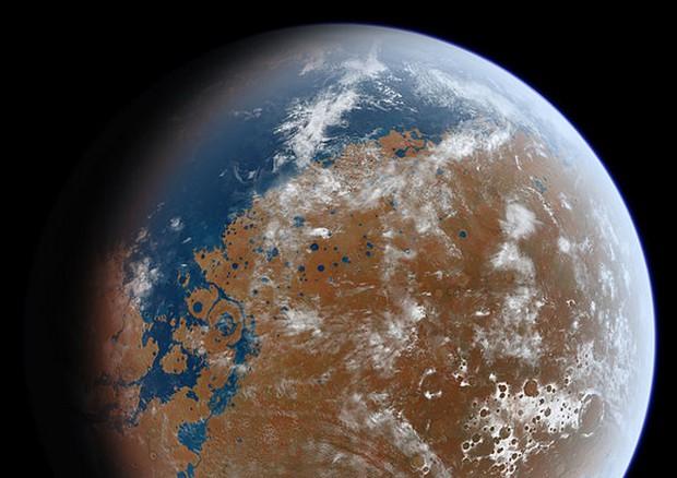 L'acqua di Marte volata via attraverso l'atmosfera