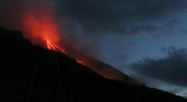 Esplosione sul vulcano Stromboli, boato e paura sull'isola
