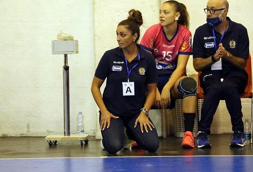 Jomi Salerno, vittoria nel recupero contro Santarelli Cingoli