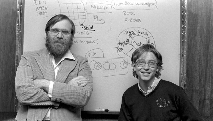 Accadde oggi: il 26 novembre del 1976 con Bill Gates e Paul Allen nasce a Seattle la Microsoft