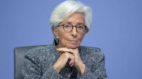 """Christine Lagarde: """"La seconda ondata di Covid toccherà severamente l'economia"""""""