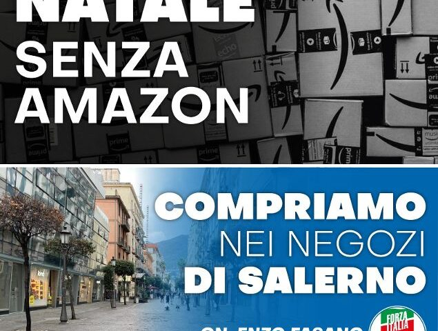 Fasano (FI): «Compriamo nei negozi di Salerno, sosteniamo la città»