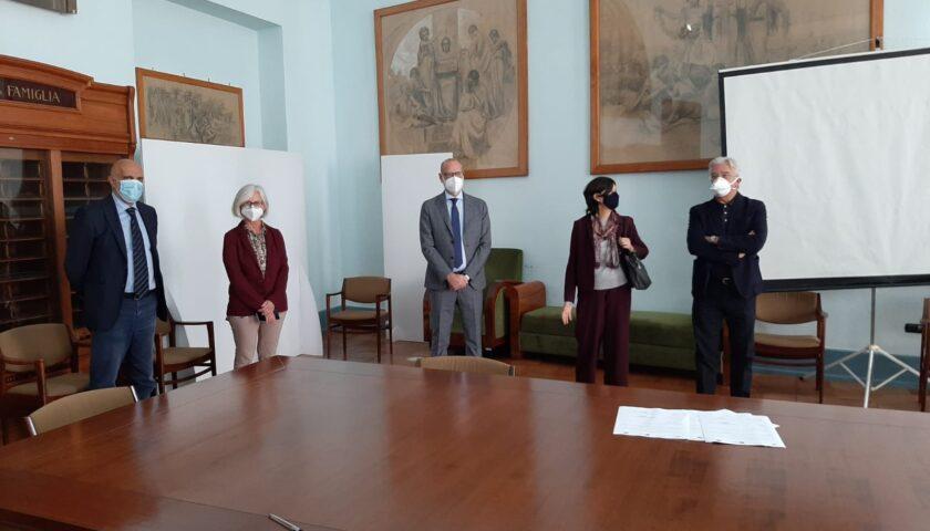 PROTOCOLLO D'INTESA PER LA RICHIESTA DI CANDIDATURA ALL'UNESCO DELLA SCUOLA MEDICA SALERNITANA