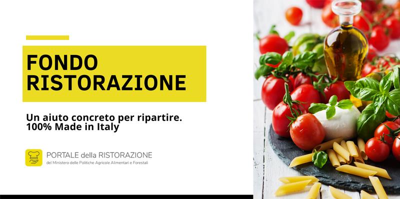 Fondo ristorazione, il bonus per chi acquista Made in Italy