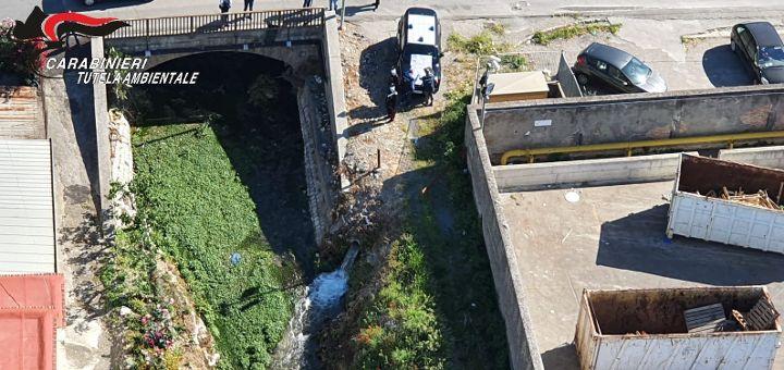 Inquinamento del Sarno, due imprenditori indagati e impianto di depurazione sequestrato