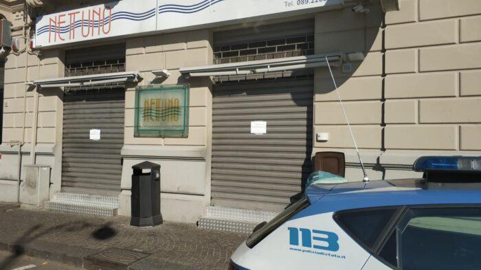 Sospetto caso di covid, chiuso il Bar Nettuno a Salerno