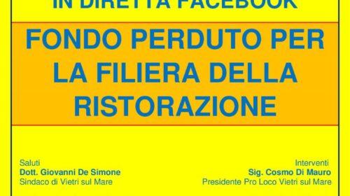 Comune di Vietri sul Mare: amministratori comunali e imprenditori parlano del bonus Filiera Italia