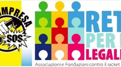 Salerno, nasce SOS Impresa rete per la legalità