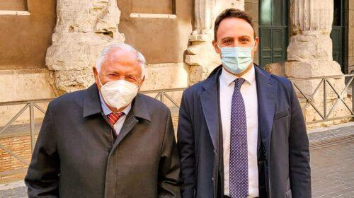 Cultura e diritti d'autore, Piero De Luca incontra Mogol