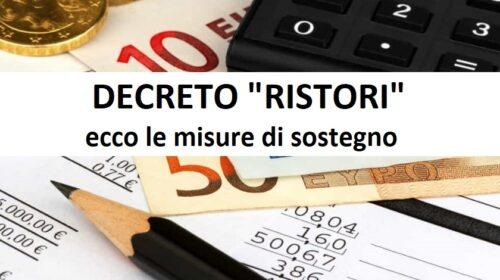 Decreto Ristori quarter, Misure urgenti connesse all'emergenza COVID-19 (decreto-legge)