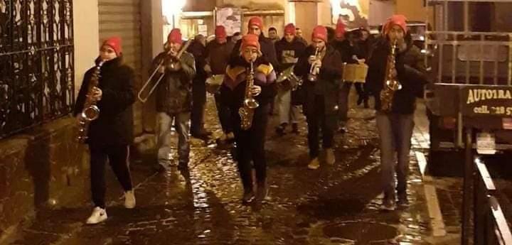 Pagani, il covid frena la banda musicale della novena dell'Immacolata