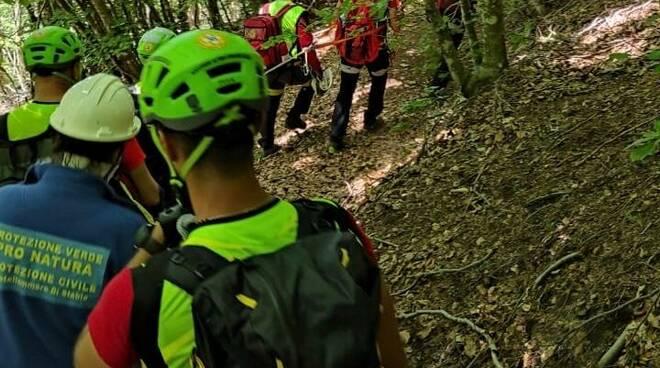 Escursionista di Battipaglia si perde tra i monti, ritrovato dagli operatori del Cnsas
